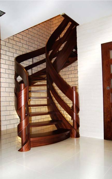 schody wstęgowe 11