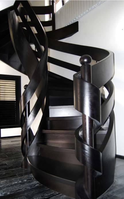 schody wstęgowe