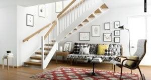Scandinavian living room. By Pikcells Visualisation Studio 300x160