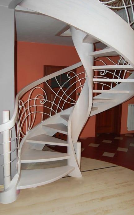 nowoczesne schody gięte 3