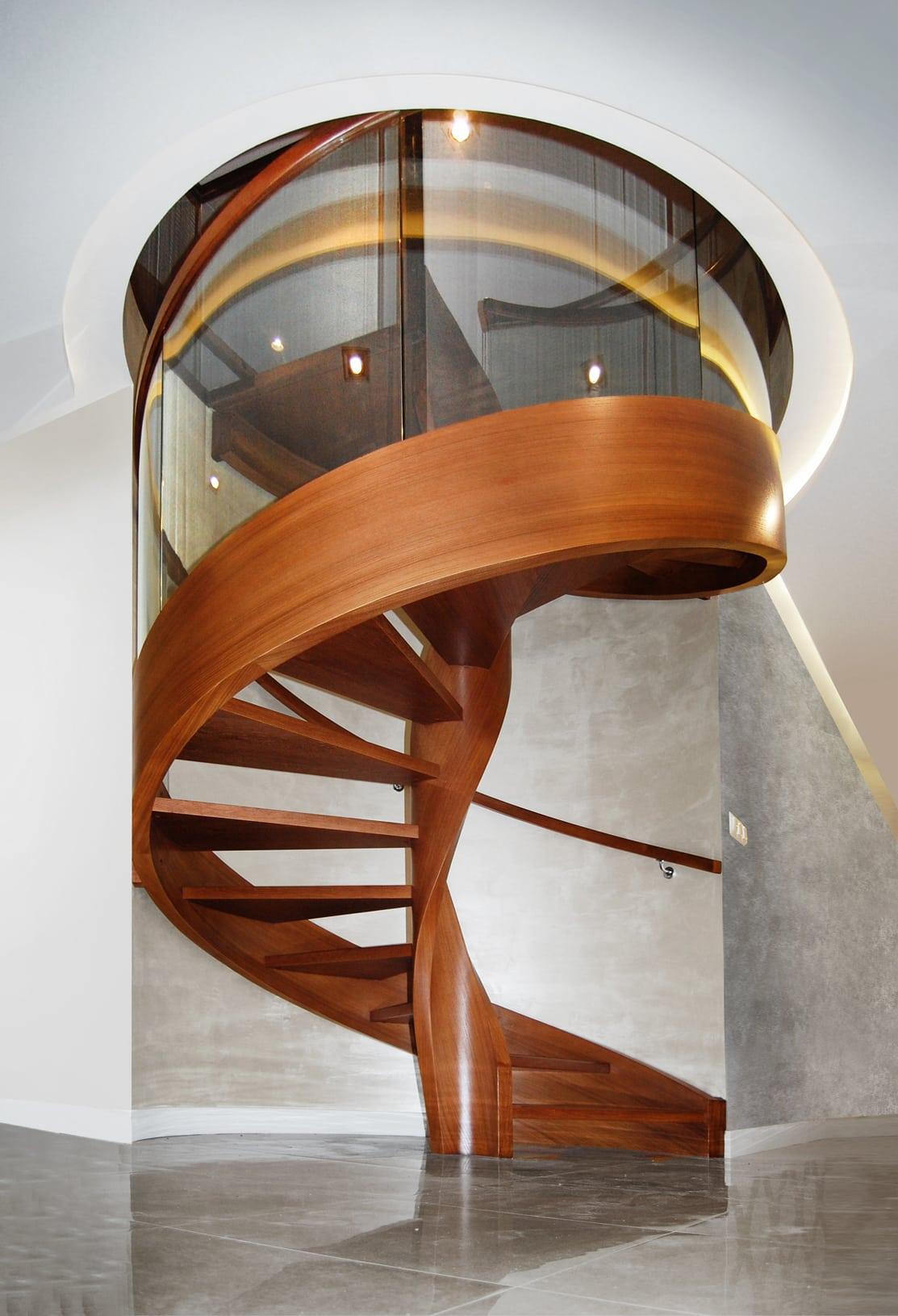 schody kręcone